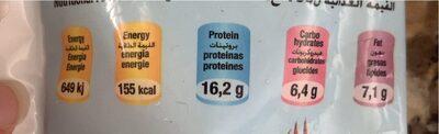 Nuggets de poisson panés - Voedingswaarden - fr