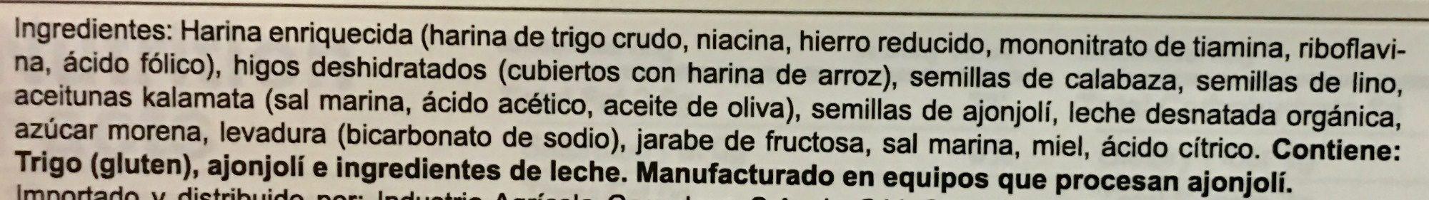 raincoast crips - Ingrédients - es