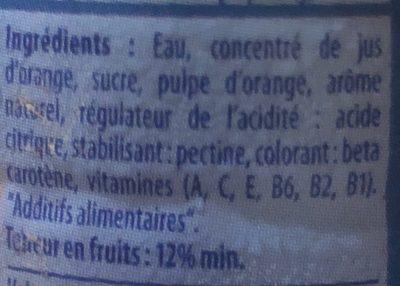 Rouiba - المكونات - fr