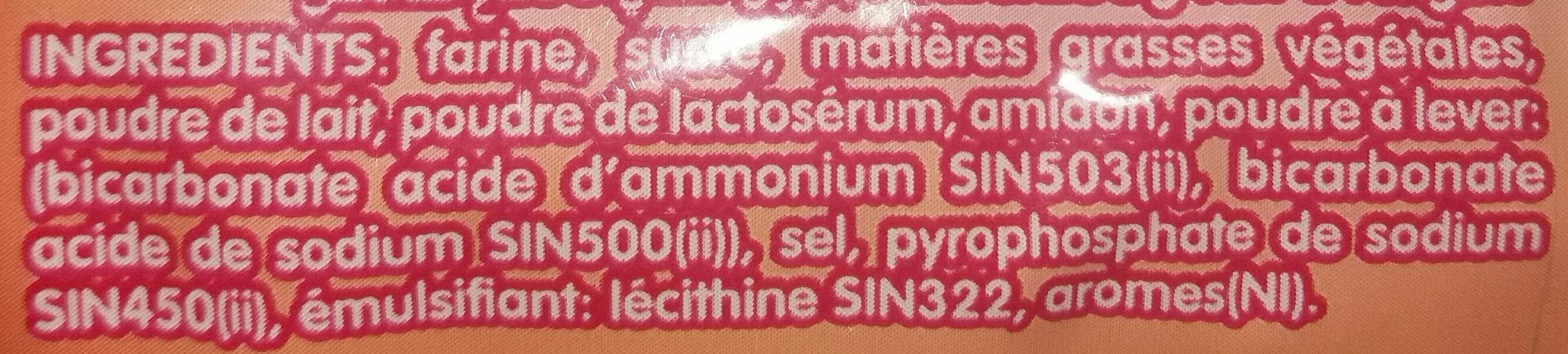 Bissousse - Ingrediënten