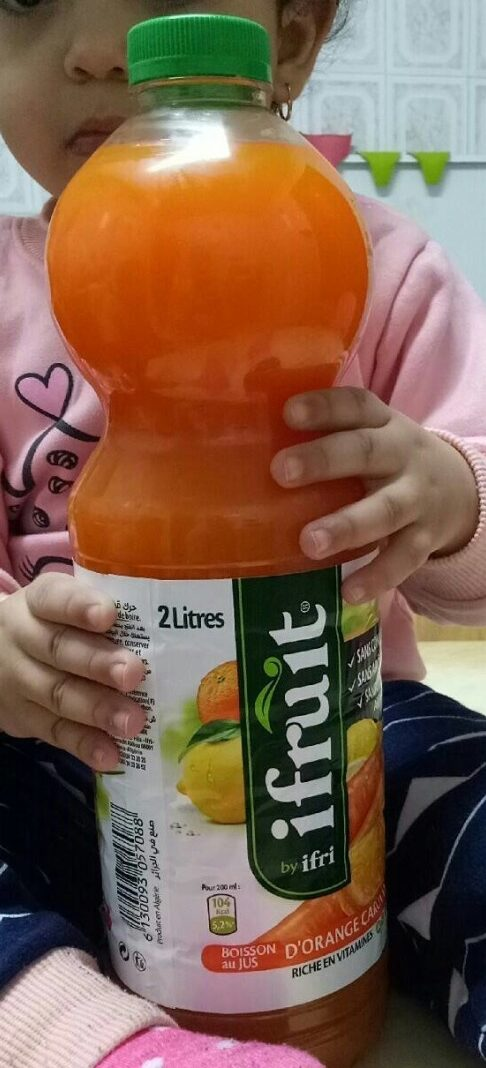 ifruit Jus d'orange carotte citron - نتاج - fr