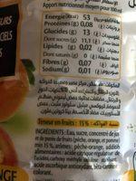Ifruit - Ingrediënten - fr