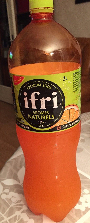 Premium Soda Orange - Produit - fr