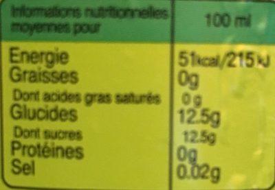 Ifri pomme verte - Nutrition facts - fr