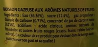 Ifri Premium Soda - Ingrédients - fr