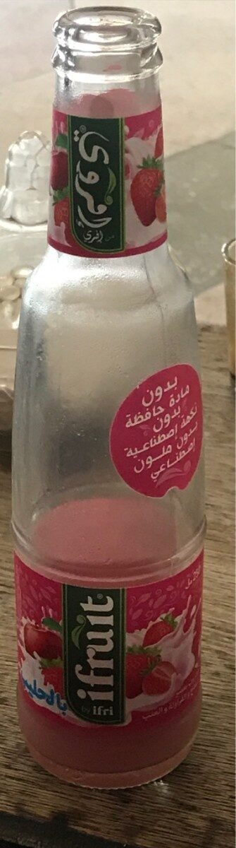 Boisson au jus de pomme fraise au lait - نتاج - fr