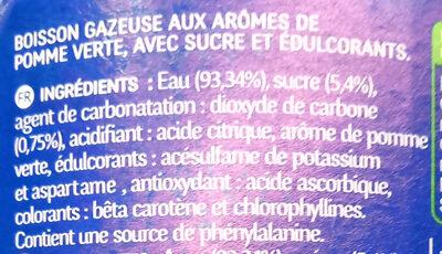 Ifri Pomme verte - Ingrédients - fr