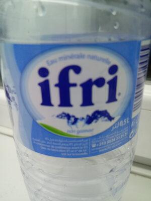 ifri eau minérale - Prodotto - fr