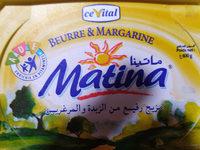 Matina - Voedigswaarden