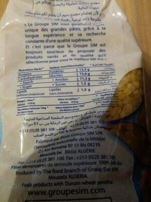 Plomb - حقائق غذائية - fr