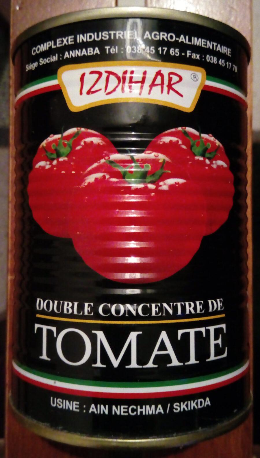 Double concentré de tomates - نتاج - fr