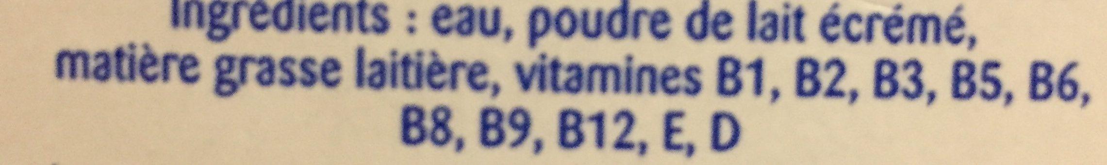 Lait candia viva - Ingrédients - fr