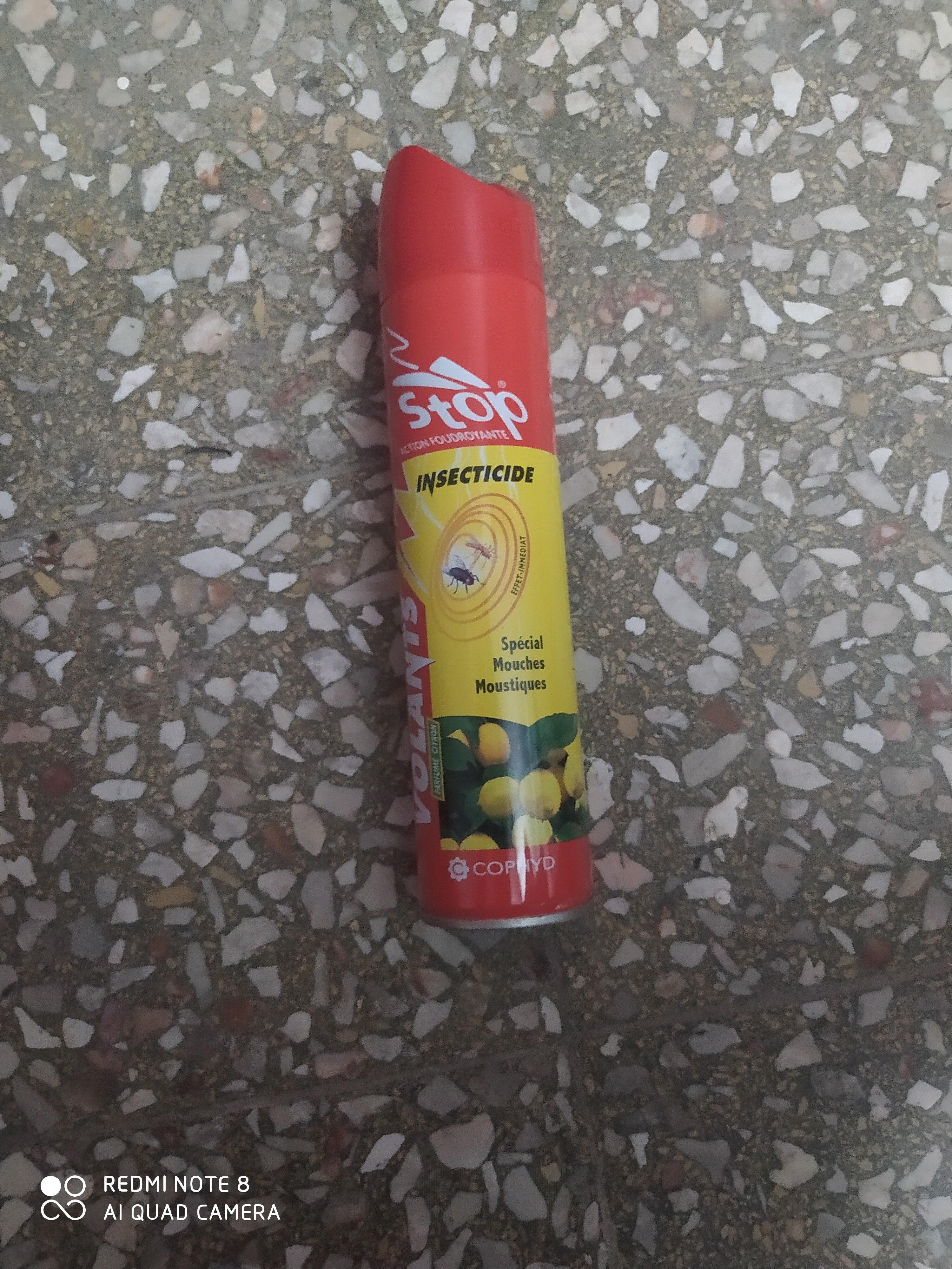مبيد الحشرات الطائرة - Ingredients - ar