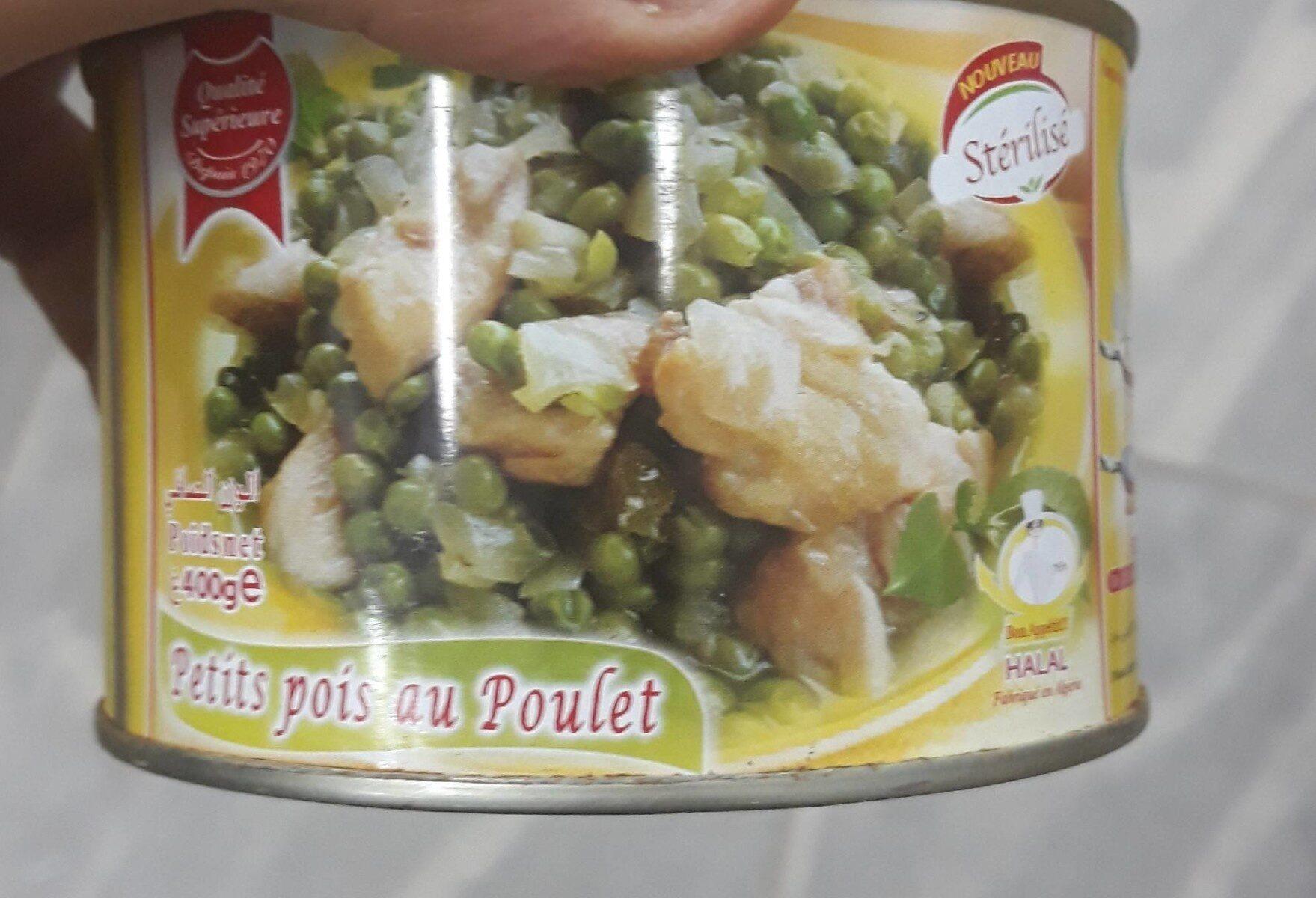Petits pois au poulet - نتاج - fr