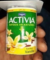 Activia saveurs vanille - نتاج - fr