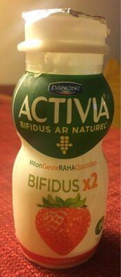 Activia - حقائق غذائية - fr
