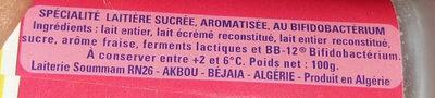 Soummam   Actif++أكتي - المكونات - fr