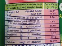 Soummam   Actif++أكتي - حقائق غذائية - fr