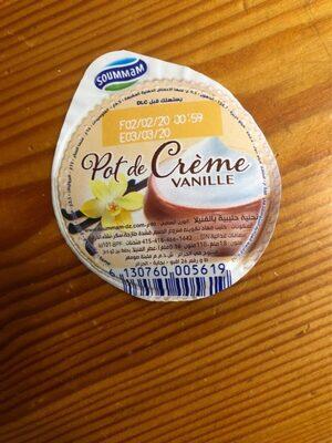 Pot de crème vanille - حقائق غذائية - fr