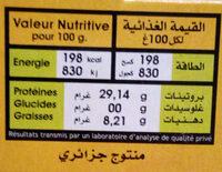 Thon entier Premium - Voedingswaarden - fr