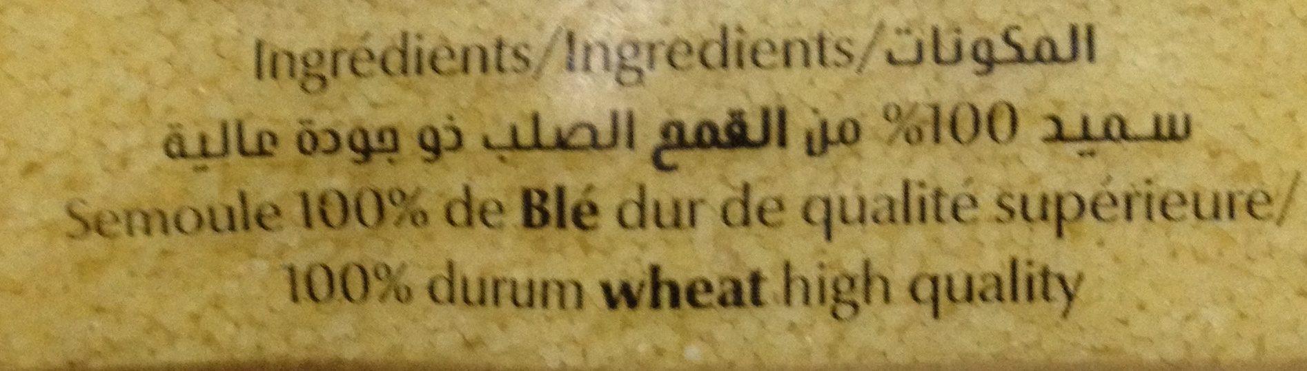 Couscous - Ingrediënten - fr