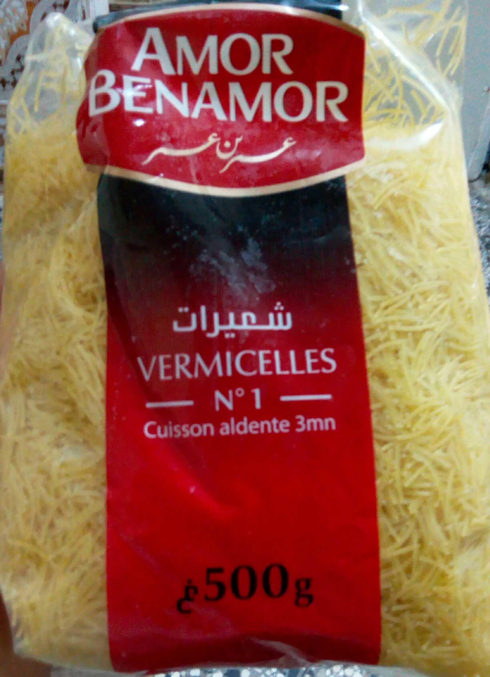Vermicelles Amor Benamor - Product - fr
