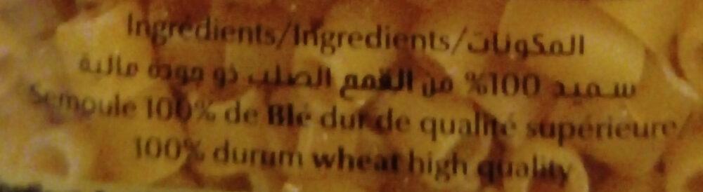 Pates Fell - Ingrediënten - fr