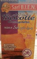 Biscotte complète sans sel - نتاج - fr