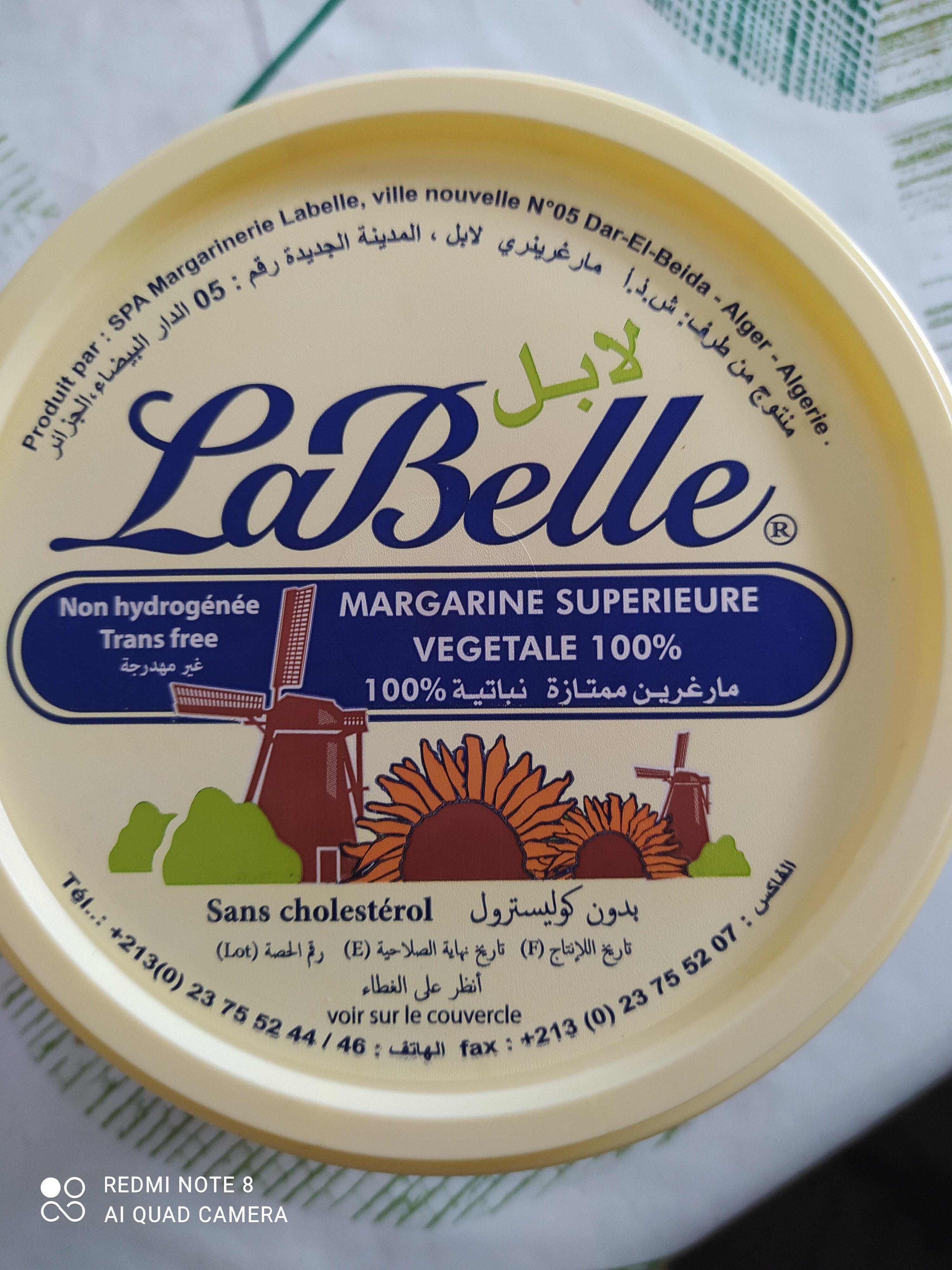 Margarine LaBelle superieure vegetale 100% - Produit - fr