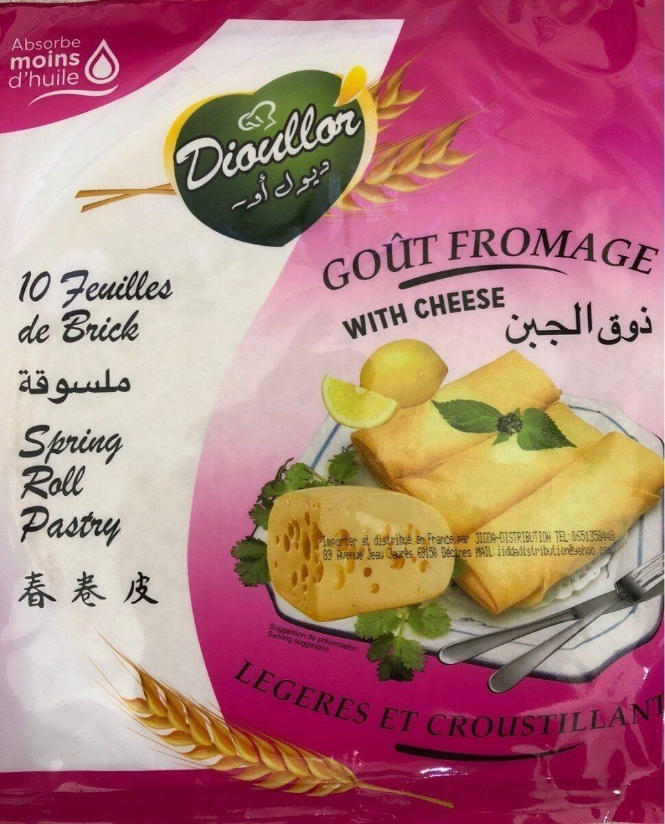 Feuille de brique gout fromage - Produit - fr