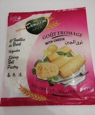 Feuille de brique gout fromage - Informations nutritionnelles - fr