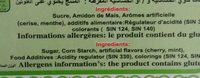 Loukoum - Ingredients
