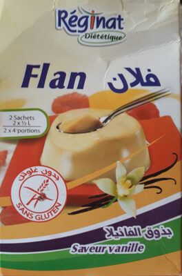 Flan Sans Gluten - Product
