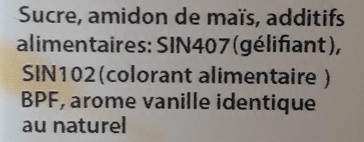 Flan Sans Gluten - المكونات - fr