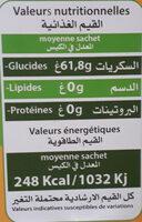 Flan Sans Gluten - Nutrition facts