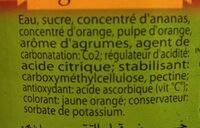 Ananas Agrum - Ingrédients