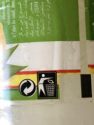 Boissons gazeuses au citron - Instruction de recyclage et/ou informations d'emballage - fr