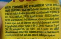 nouilles saveur - المكونات - fr