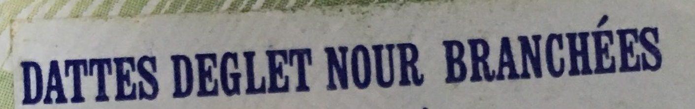 DATTES - Ingrédients - fr