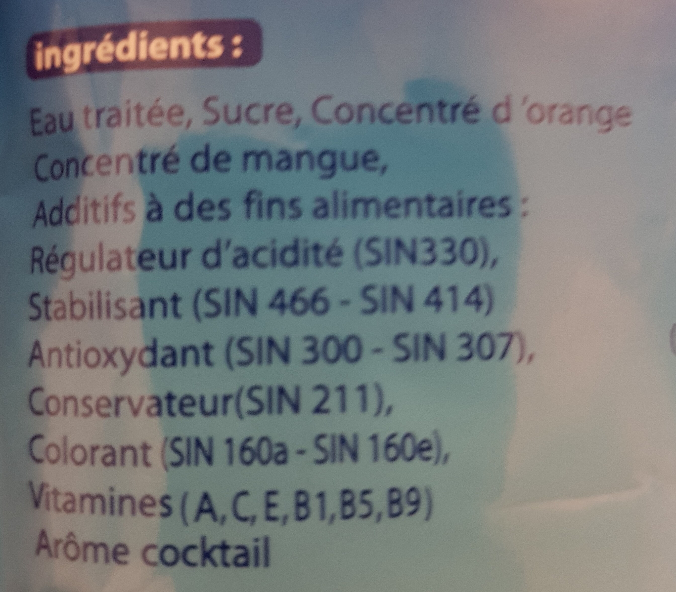 magimix - Ingredients - fr