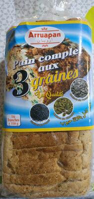 pain complet aux 3 graines - نتاج - fr