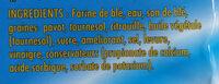 pain complet aux 3 graines - المكونات - fr