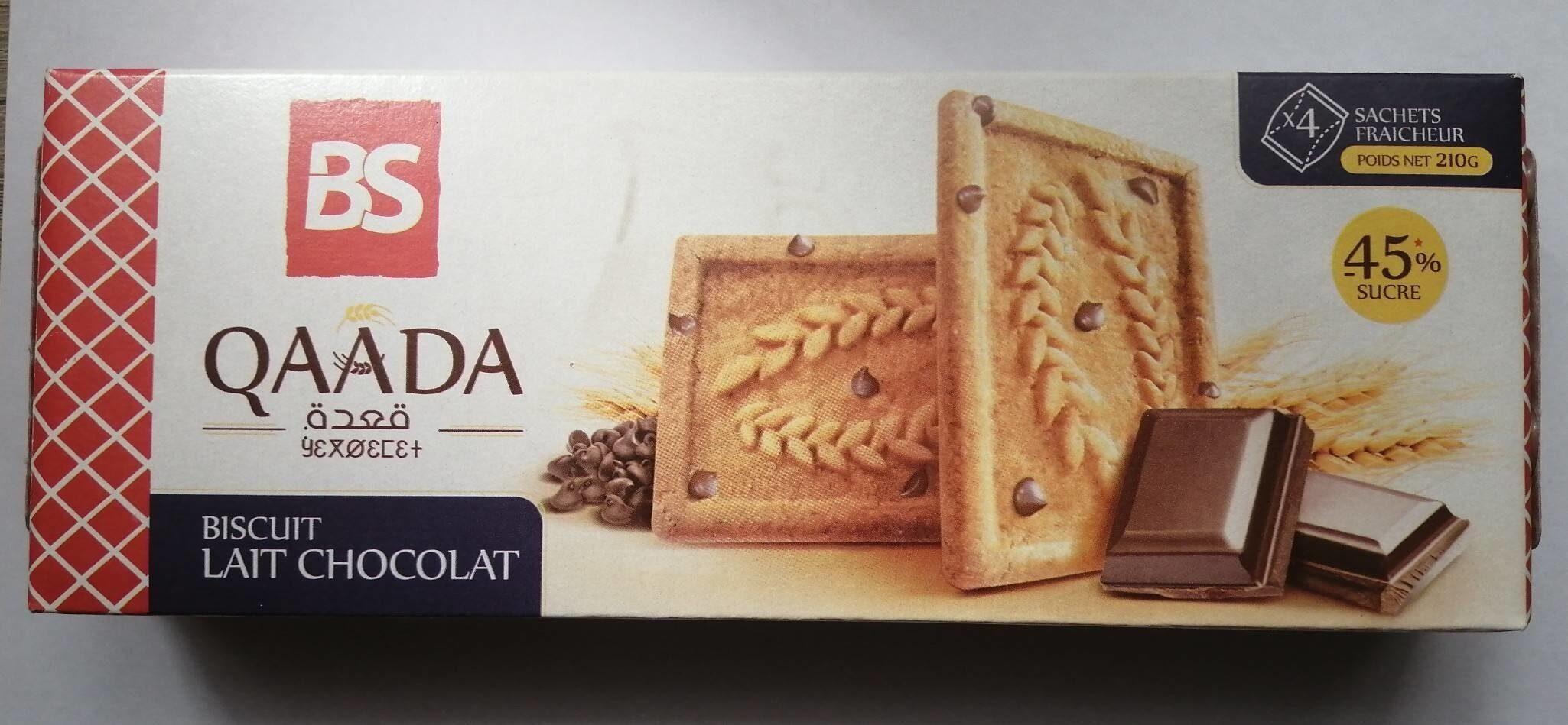 Qaâda Biscuit Lait Chocolat - Produit - fr