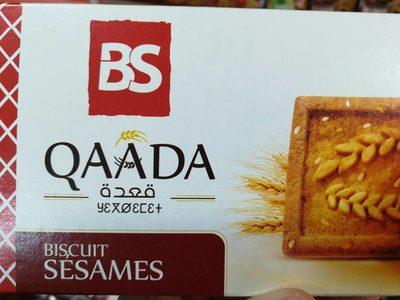 Qaada Biscuit sésames - نتاج - fr