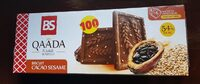 Qaada biscuits cacao sésame - نتاج - fr