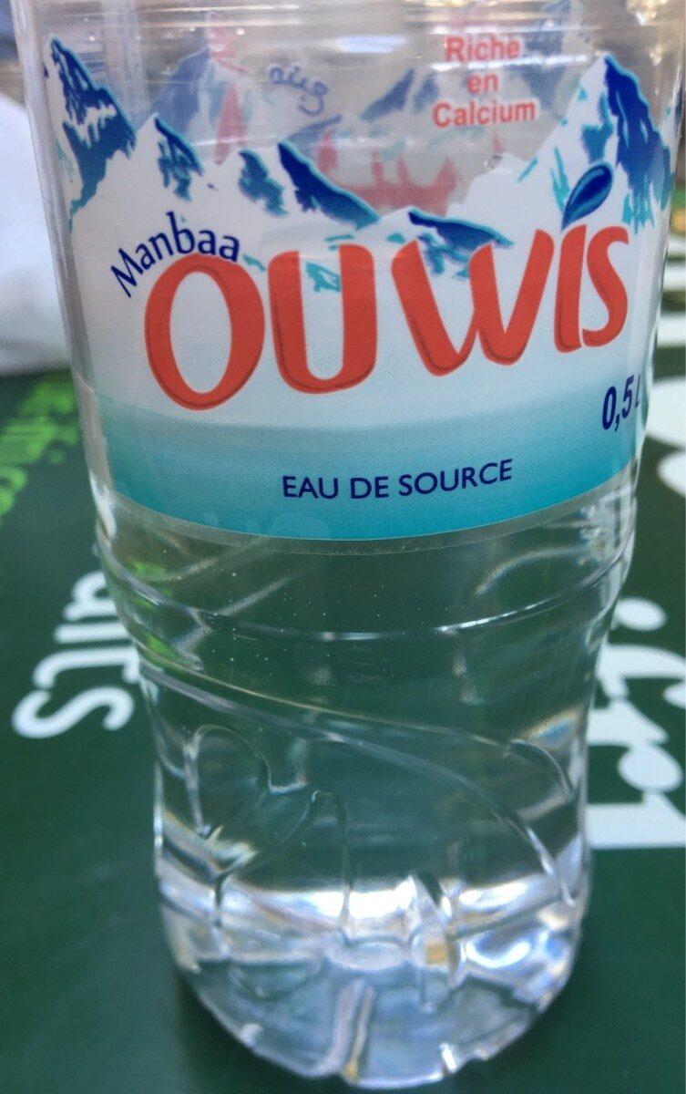 Ouwis eau de source - نتاج - fr