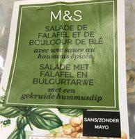 Salade de Falafel et de Boulgour de Blé - Product