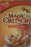 Magic Crunch chocolate filled cereal - Product