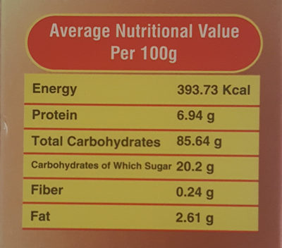 Magic Crunch chocolate filled cereal - Nutrition facts