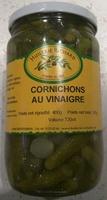 Cornichons au vinaigre - Product - fr
